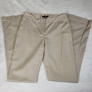Tahari Beige Trouser Pants
